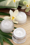 Fototapety Orchid and Face Cream