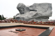 The monument to Soviet soldiers in Brest fortress, Belarus