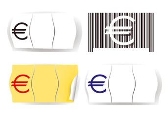 Euro Preisetikett
