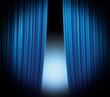Blue Curtain Highlight