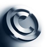 copyright symbol - copyrighted