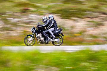 moto in velocità