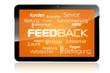 Tablet mit Feedback