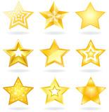 Fototapety Star icons