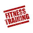 stempel eckig fitness-training I