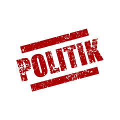 stempel eckig politik I