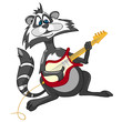 Cartoons Raccoon