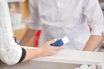 Customer Asking for Medicine