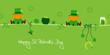 2 Sitting Leprechauns & Symbols