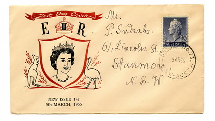 Australian first day cover
