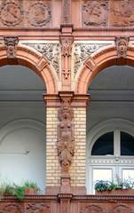 Detail Statius-von-Düren-Haus in Lübeck
