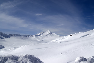 View from the ski slope