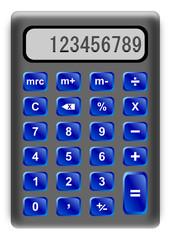 Calcolatrice (vector)