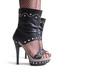 Dark elegant foot