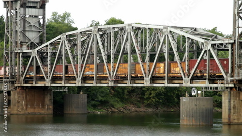 Train Crossing the Arkansas River02