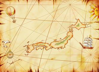 古い日本地図