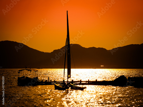 Sunset in Marmaris