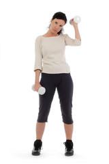 femme exténuée par son fitness