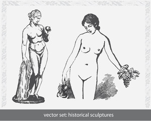 Statuen - Skulpturen