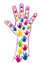 conceptual hand