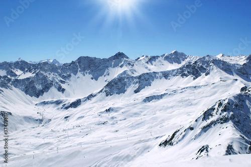 Leinwandbilder,alpen,panorama,anblick,winter