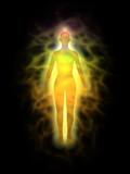 Woman energy body - aura