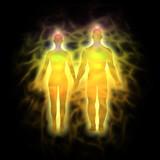 Couple energy body - aura