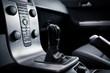 Modern car interior (shallow DOF - selective focus; color toned