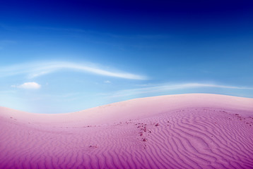 Desert dreams and purple sand