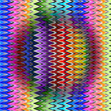colorful zigzag background, vector poster