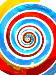 Color serpantine background