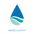 Logo water drop # Vector