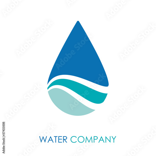 Logo water drop # Vector
