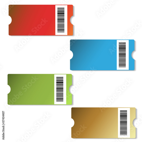 Vector shopping price-tags