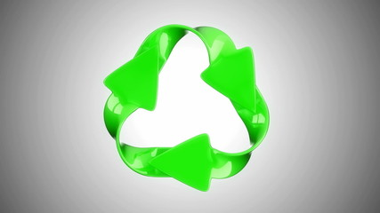 Recycling and environment eco concept. Alpha channel is included
