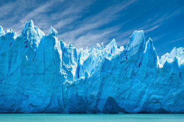 Perito Moreno glacier, patagonia, Argentina.