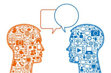 head communication Icon