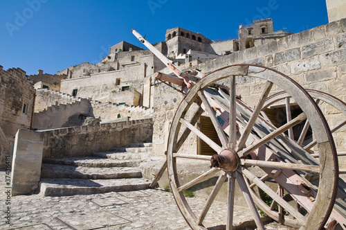 View of Matera. Basilicata. Italy.