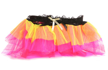 1980s lumo fancy dress skirt
