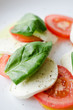 Caprese - Italian salad tomatos and mozarella cheese