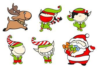 Funny kids #61 - Santa's team