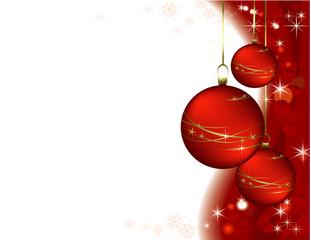 Red vector Christmas romantic design