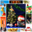 Christmass collage