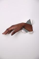 Hand durch die Wand 2