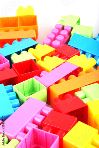 Plastic toy blocks © Nenov Images