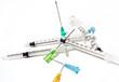 aiguilles,piqure,médecine,seringues,laboratoire,hopital