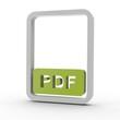 3d Icon Dokument PDF