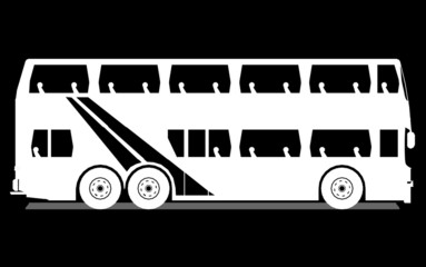 Tour Bus , vector