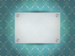 Transparent Blank Frame