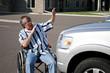 wheelchair car accident